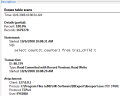sinatica monitor table scan alarm